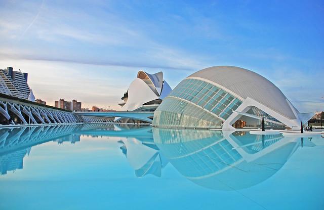 Stadiums of Spain - Valencia Blue
