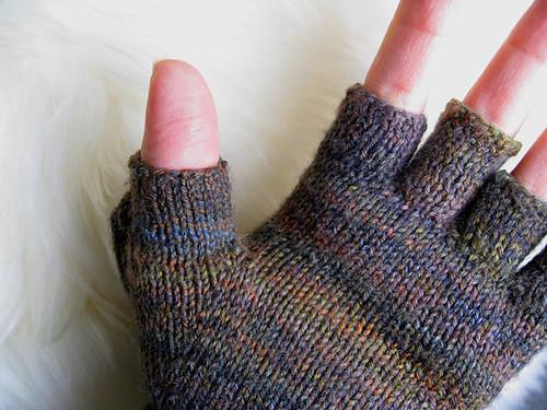 Thumb exposed