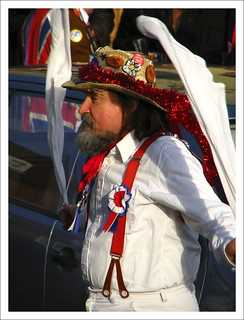 A Morris dancer, naturally