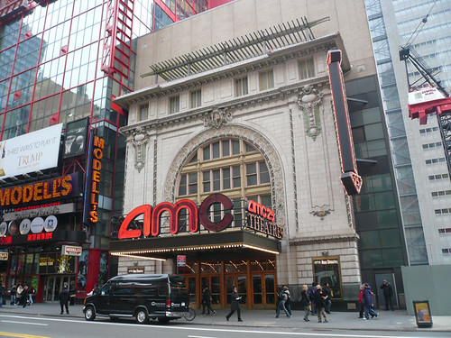 AMC Empire Theater, 42nd Street