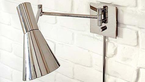 Swing Arm Wall Sconce West Elm : sconce roundup Design*Sponge