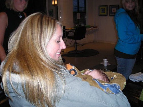 Jenni & baby Stave