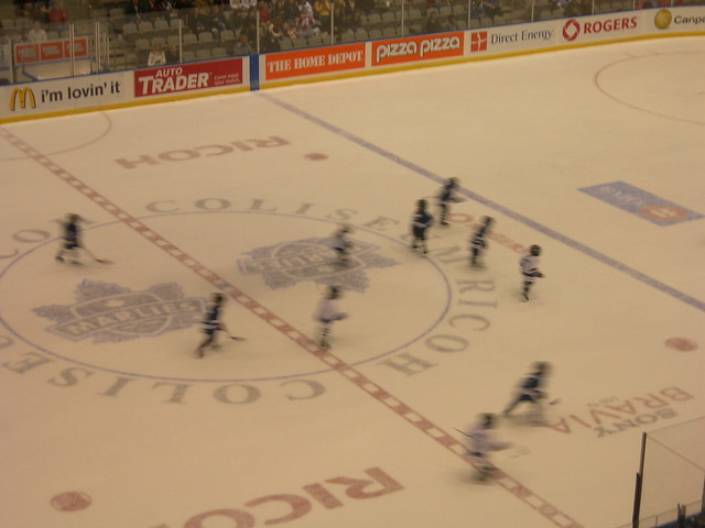 Toronto Marlies vs Hamilton Bulldogs Hockey Game, Ricoh Coliseum, Exhibition Place, Toronto Ontario Canada, Sunday February 24 2008 - 054
