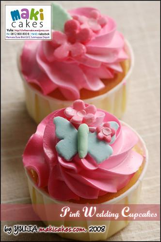 Pink Wedding Cupcakes 2