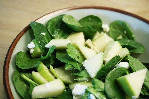 Spinach & Green Apple Salad 04.06.08
