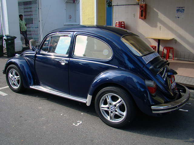metallic dark blue VW beetle bug III | Explore hsalnat's ...