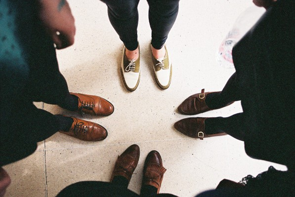sensible shoe crew