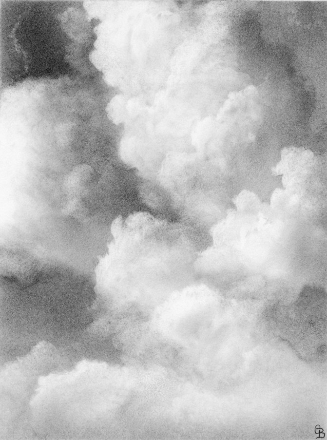Cloud Study (3) | Cloud sketch | By: gregorybeckerdrawings ...