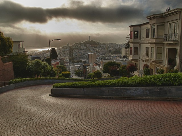 Lombard St. and Telegraph Hill, SF, CA