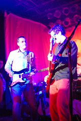 3 November 2007 - 10:36pm - There were three other guys on stage.  They were wily and difficult to photograph.  Then again, the guy on the right WAS the bassist, and we all know how bassists are about publicity...