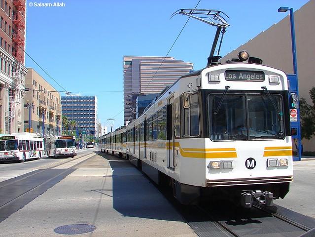 1st Avenue Long Beach California Transit Mall Station Long