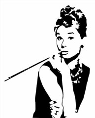 Buddy Holly Stencil
