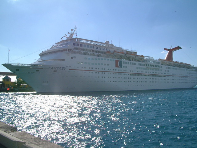 DSCF0529  Carnival Cruise Ship At Port  Nassau Bahamas    Flickr  Phot
