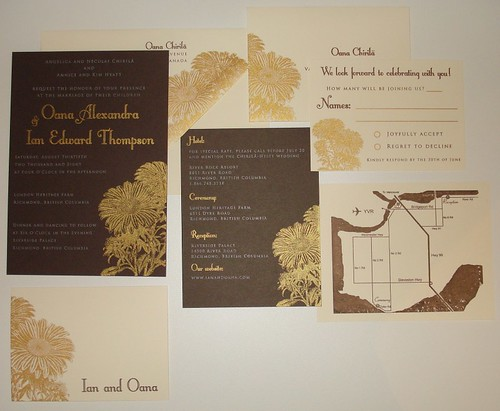 Wedding Invitations - Oana and Ian