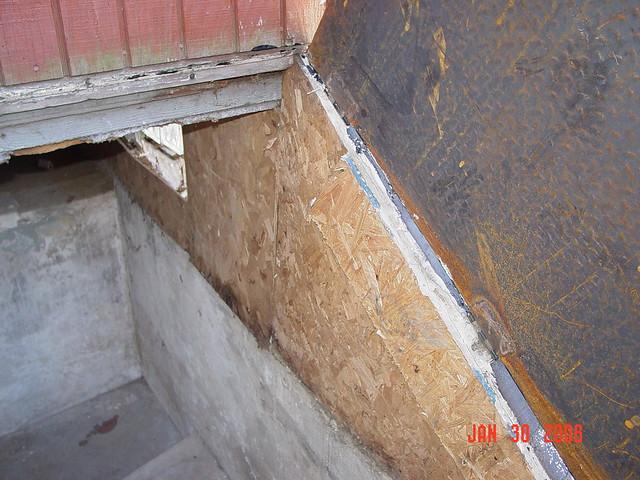 new basement steel hatch door flickr photo sharing