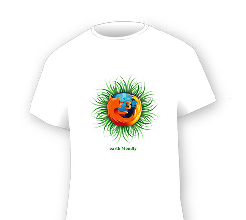 earth friendly ff3 tshirt
