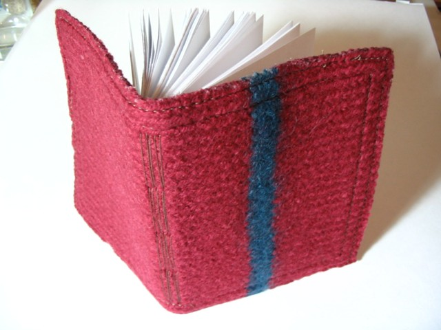 How To Make A Knitted Book Cover : Knit cover book flickr photo sharing