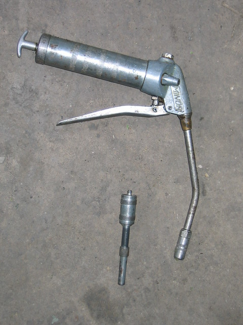 Grease Guns: Grease Gun Definition/meaning