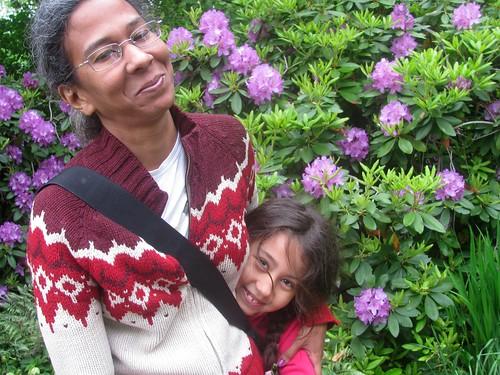 Janine & Eden in Fort Tryon Park