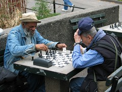 Washington Square Park Chess