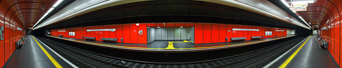 red panorama signs texture colors wall digital buildings germany underground subway geotagged nikon colorful europe bonn pattern metro tl empty tracks projection seats stitching onecolor 51 d200 exit subwaystation minimalism nikkor dslr emergency minimalistic cylindrical northrhinewestphalia thecolorred 18200mmf3556 utatafeature manganite nikonstunninggallery anawesomeshot date:year=2007 geo:lat=5070663 geo:lon=7137782 date:day=1 date:month=november
