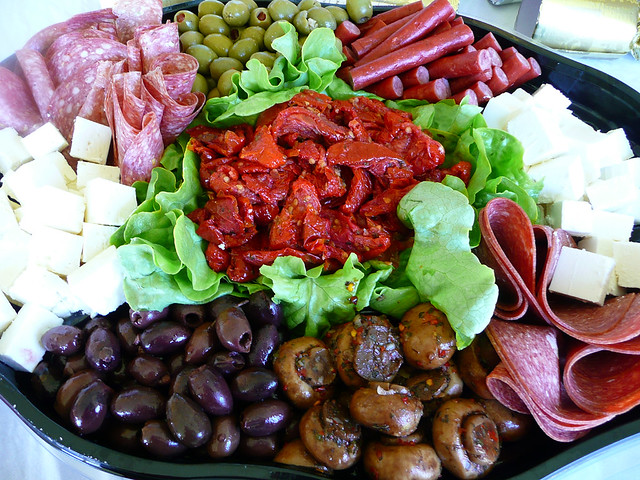 Antipasto platter from Woolworths | Flickr - Photo Sharing!
