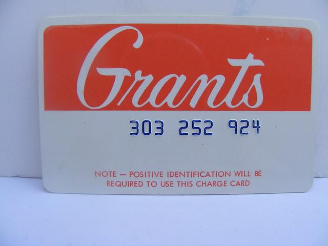 Grant's Credit Card!