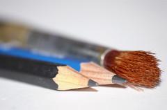 eye(0.0), brown(1.0), pencil(1.0), close-up(1.0), brush(1.0),