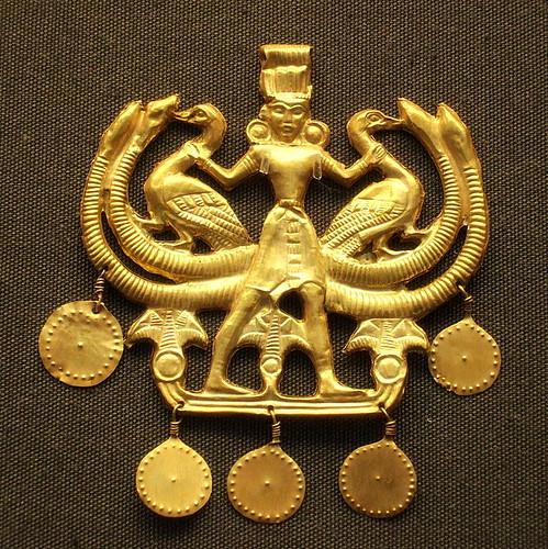 Minoans - Aigina Treasure pendant, 1850-1550 BC