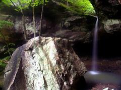 Longpool, Pam's Grotto and Haw Creek Falls