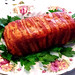 Bacon Wrapped Prune Stuffed Meatloaf by Helen M. Radics