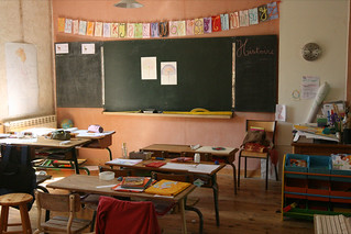 classroom by ecole des roseaux, on Flickr