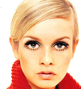 1960s style makeup routine