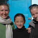 American, French and Kyrgyz Women - Murghab, Tajikistan