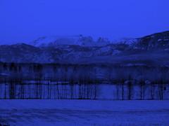 """Comox Glacier - """"Night"""" View"""