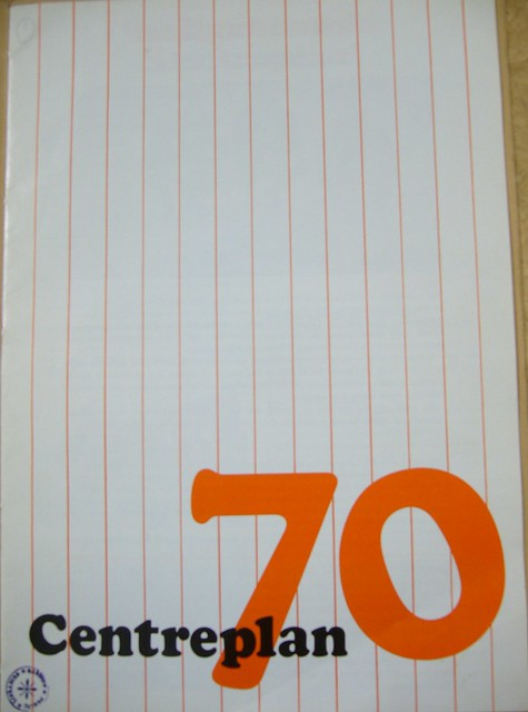 Centreplan 70 Brochure Front Cover