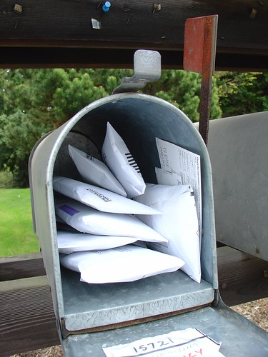 Mailing Junk back to Junk Mailers; Undeliverable Item Notice in there?
