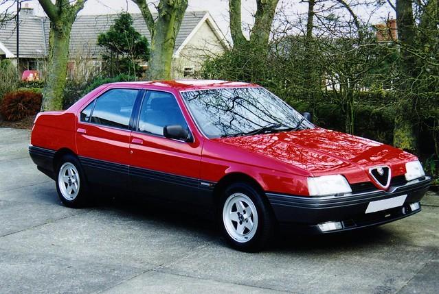 Alfa Romeo 164 2.0 Twin Spark | Flickr - Photo Sharing!