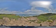 Sorrento: Track Ocean Beach 1 Sorrento Vic Equirectangular