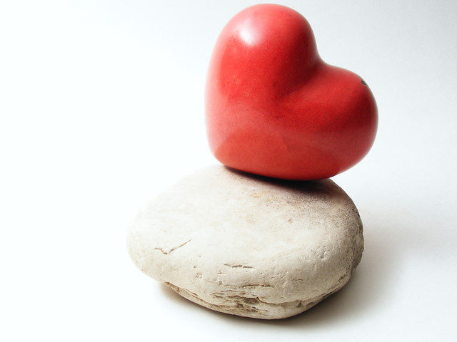 Love on the rocks from Flickr via Wylio