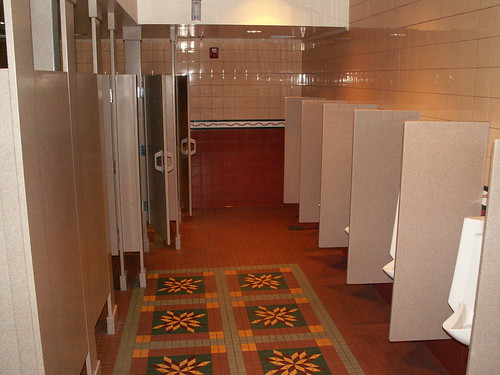 Pioneer Hall Restrooms - around the corner