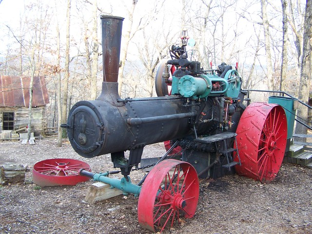 Case Steam Tractor Diagram : Very old case steam tractor an powered