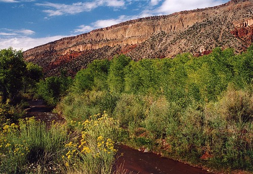 Jemez River valley, New Mexico