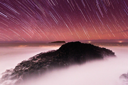 Fingal Head Startrails