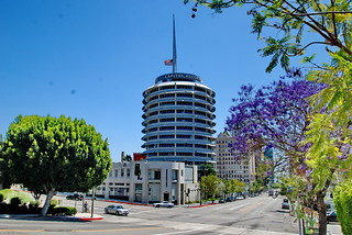 Capitol Records Tower, Welton Becket & Associates 1954