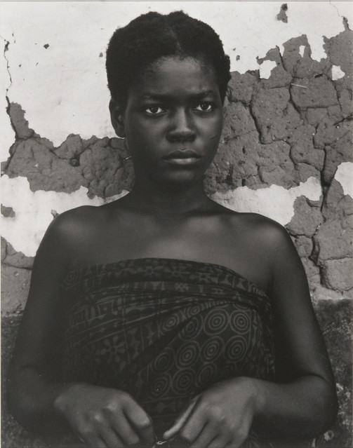 Afe Negble, Asenema, Ghana, by Paul Strand 1964