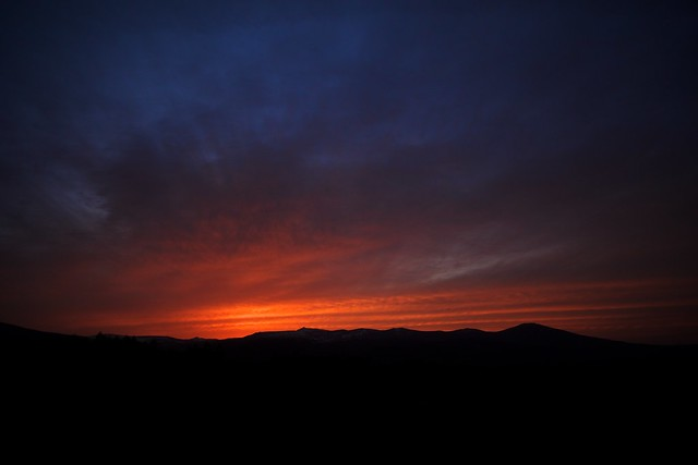 Photo:Colorful Sunset over Hachimantai By:jasohill