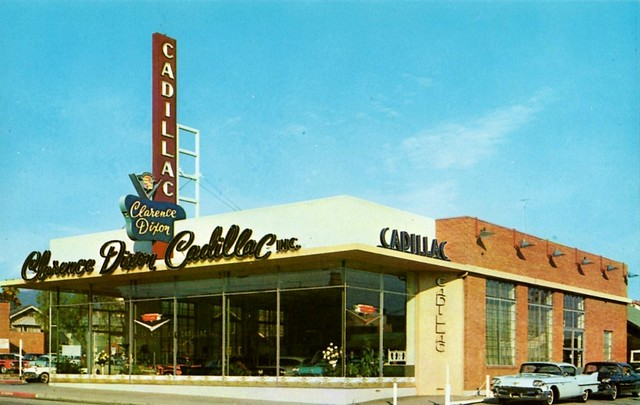 Mid Century Cadillac Dealer Roster