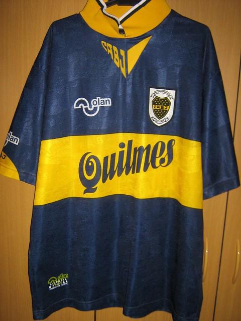promo code a581d 6ecce Boca Juniors Cenetennary Shirt with Maradona 10 | Hou Cher ...