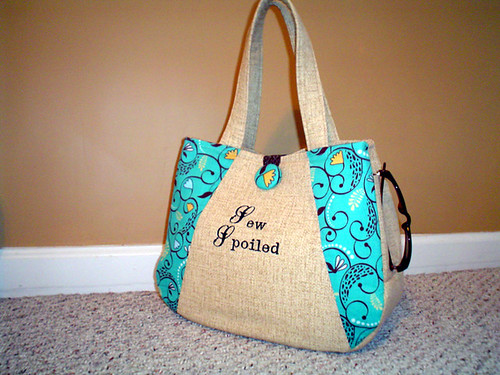 Everyday bag Sew Spoiled front